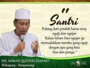 KH Ahmad Qusyairi wafat